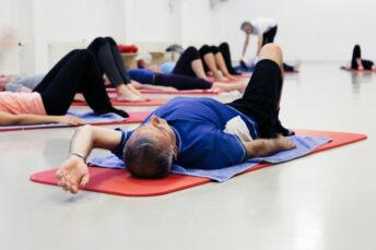 Fitness im Geisi: Faszien-Pilates