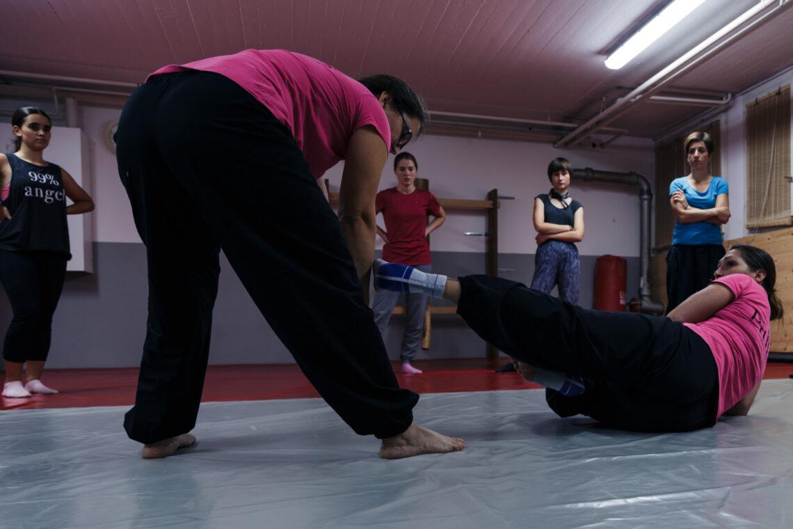 Sportaktiv City Fitness Selbstverteidigung